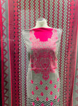 Hot Pink Winter Khaadar suit  SP249- 12 Midtex
