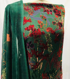Emerald Green Warm winter wear Vaishali suit SP301-3 midtex