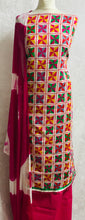 Load image into Gallery viewer, Hot Pink cotton fabric set  SP188-2 midtex