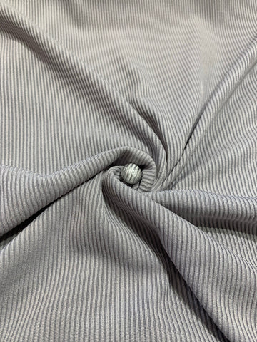 Silver & Grey Lounge wear Pin striped Jersey kameez with black linen trousers SP291-5 midtex