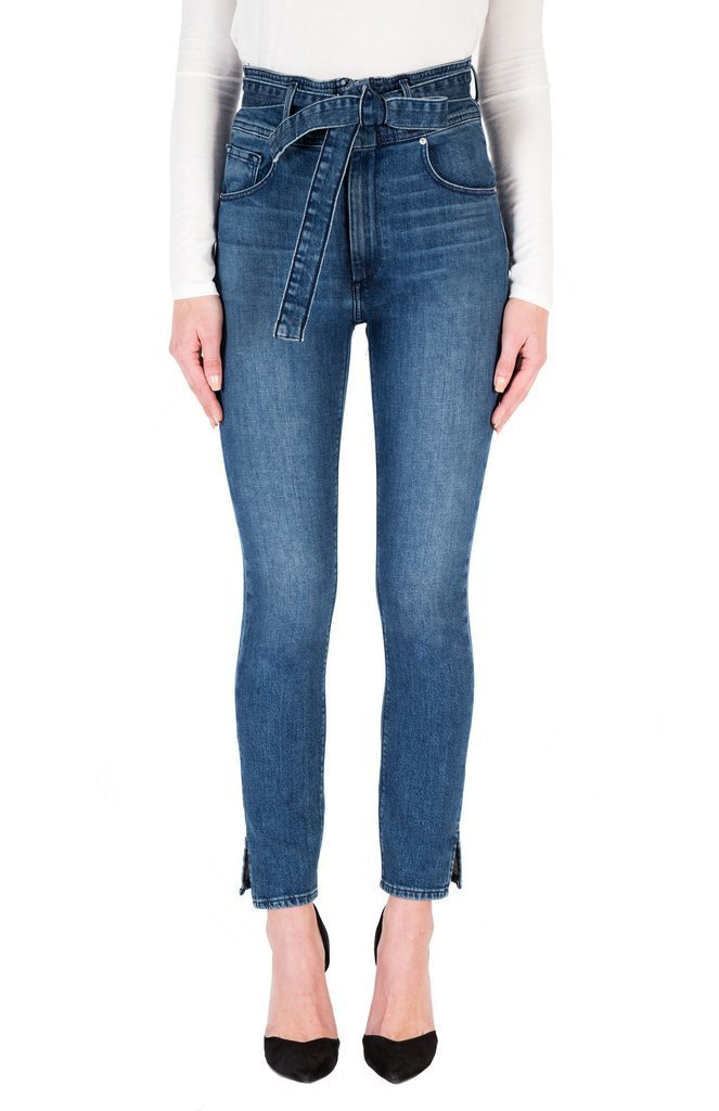 Jourdan Belted Denim