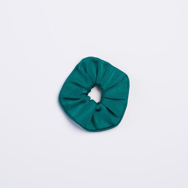 Peacock Shimmer Scrunchie