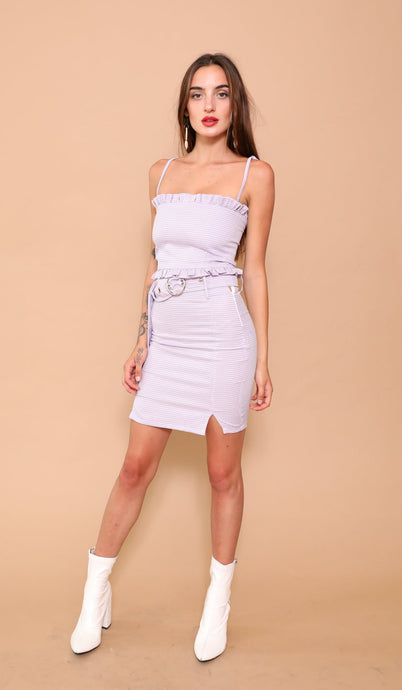 Lilac Vivien Mini Skirt