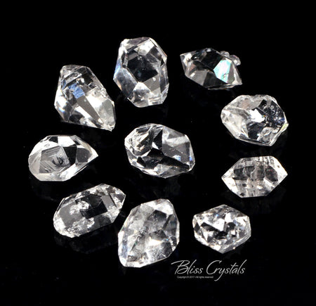 1 HERKIMER DIAMOND 2.5 - 6.0 Carats TW Double Terminated Quartz #HD10