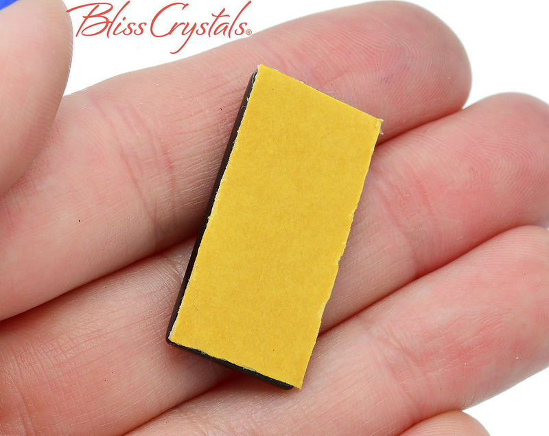 Shungite Adhesive Small Tile for phone for protection from EMF Healing Crystal and Stone #ST65
