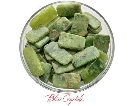 1 SERPENTINE Slice Green Polished Flat You Choose size, for Healing Kundalini #SS43