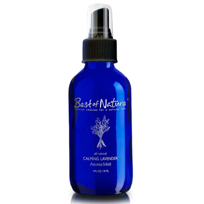 Calming LAVENDER Mist 4 oz Bottle by Best of Nature