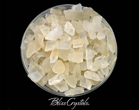 28 gm MOONSTONE Rough Cut Mini Pieces (Approx 12 - 14) Creamy White Healing Crystal and Stone Medicine Bag Jewelry & Crafts #RM11