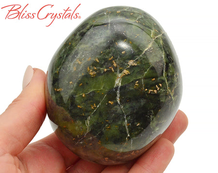 "3"" JADE Nephrite Energy Stone 1 lb Crystal for newlyweds #JM12"