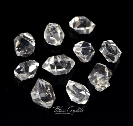 1 HERKIMER DIAMOND 1.3 - 1.5 Carats TW Double Terminated Quartz #HD06