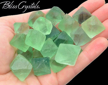 "3 FLUORITE OCTAHEDRON ""Cleavages"" Stones aka Chinese Diamonds for Focus #FC05"