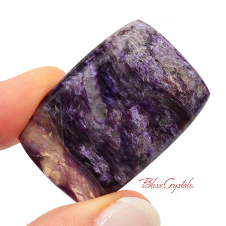 CHAROITE Polished Cabochon 1.5 inch + Bag #CC05