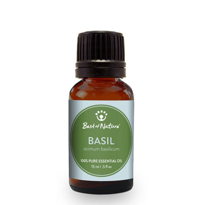 BASIL Essential Oil Single Note by Best of Nature #BN03