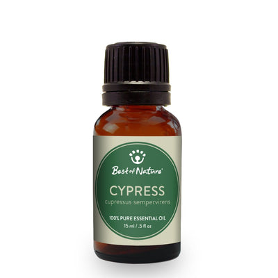 Cypress Essential Oil Single Note by Best of Nature #BN12