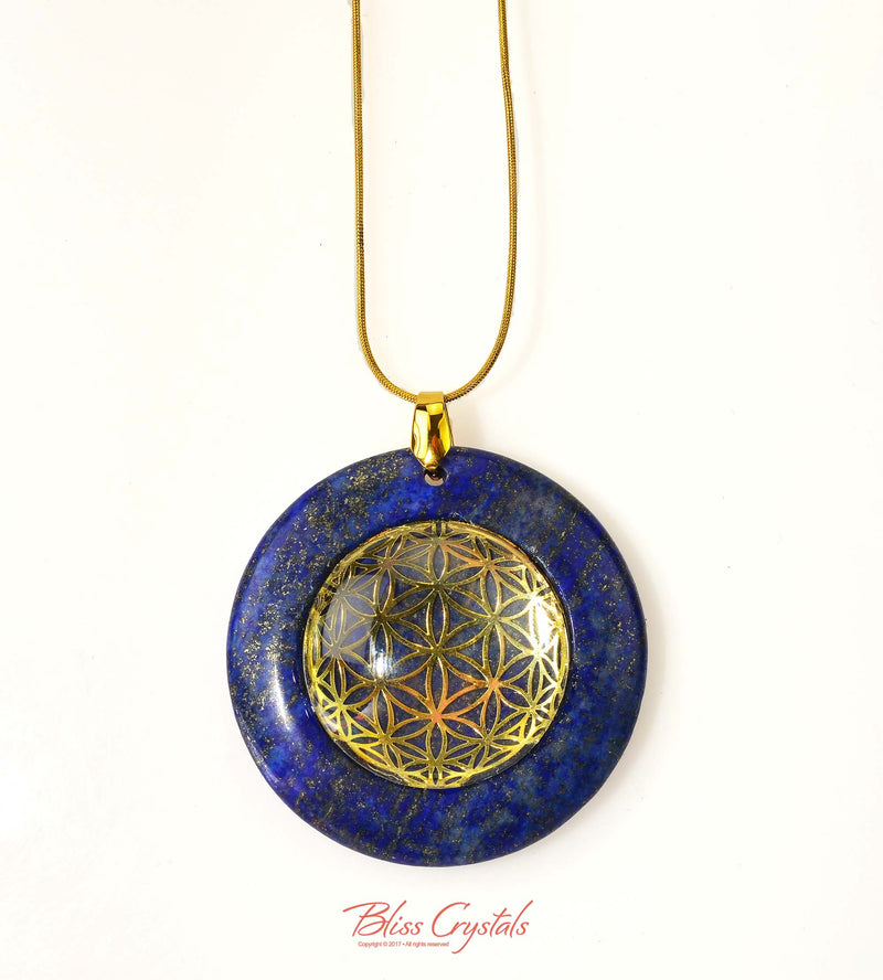 symbol with lapis a gold sale pendant flash lazuli sacred necklaces necklace geometry progressive products