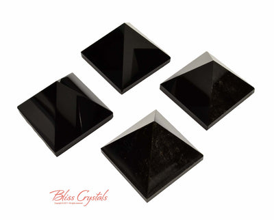FLASH SALE - Tucson Reveal: Obsidian Polished Pyramids #BN01