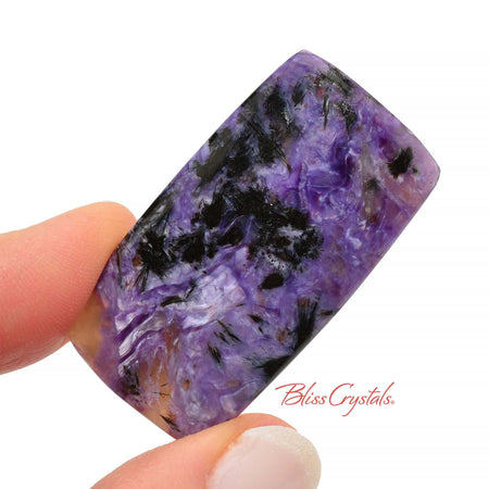 CHAROITE Polished Cabochon 1.6 inch + Bag #CC07
