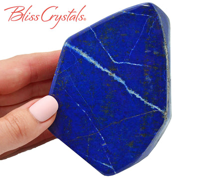 1 lb LAPIS LAZULI Pyrite Freeform Polished Specimen Healing Crystal and Stone #LL30