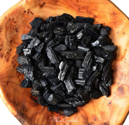 1/4 lb BLACK TOURMALINE Rough Pieces Healing Crystal and Stone Jewelry & Craft Protection Absorb Negative Energy #BT40