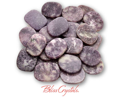 1 Medium Lepidolite Palm Stone Healing Crystal and Stone #LP99
