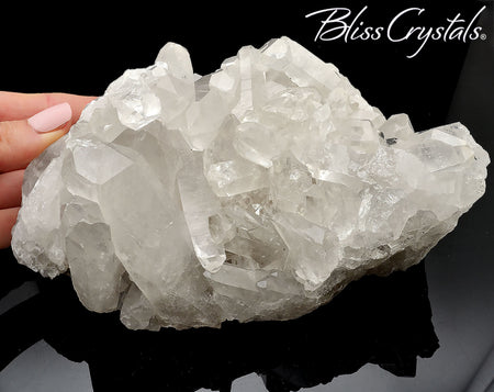 "6"" Quartz Cluster CLEAR Quartz Point 2 lb Specimen Natural Rough Stone #QP24"