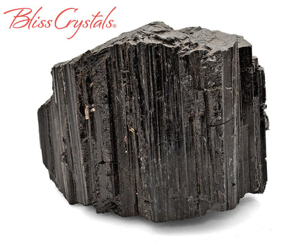 "2.9"" Black Tourmaline Rough Specimen Stone for Protection #BT104"