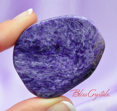 20 gm CHAROITE Flat Polished Slab Grade AA for transformation #CS35