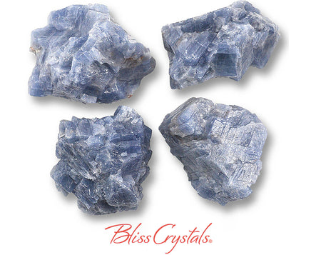 1 Large BLUE CALCITE Rough Stone Crystal Mineral Specimen Healing Crystal and Stone Raw Jewelry Craft #BC17