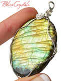 CUSTOM WIRE WRAPPING Service with Sterling Silver Wire