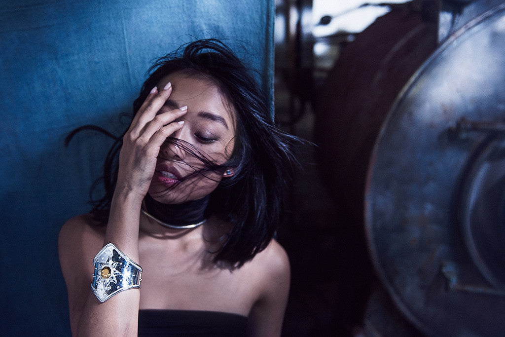 Margaret Zhang stars in jewellery campaign for AU REVOIR LES FILLES