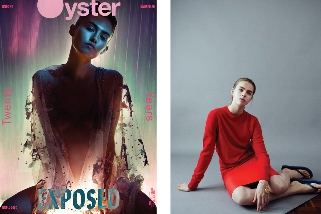 Oyster Magazine featuring Au Revoir Les Filles jewellery