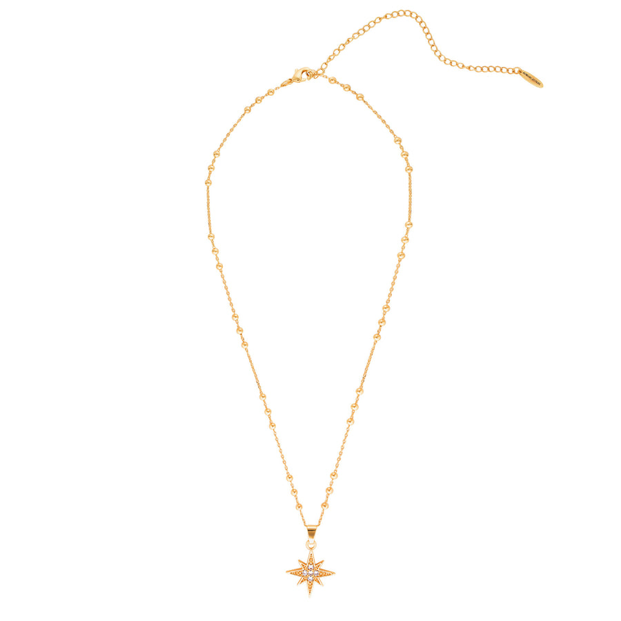 north star necklace gold layered jewellery Australia