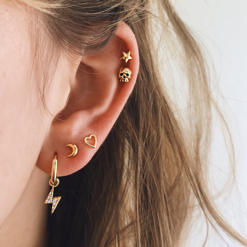LUMIERE PAVÉ EAR HOOPS