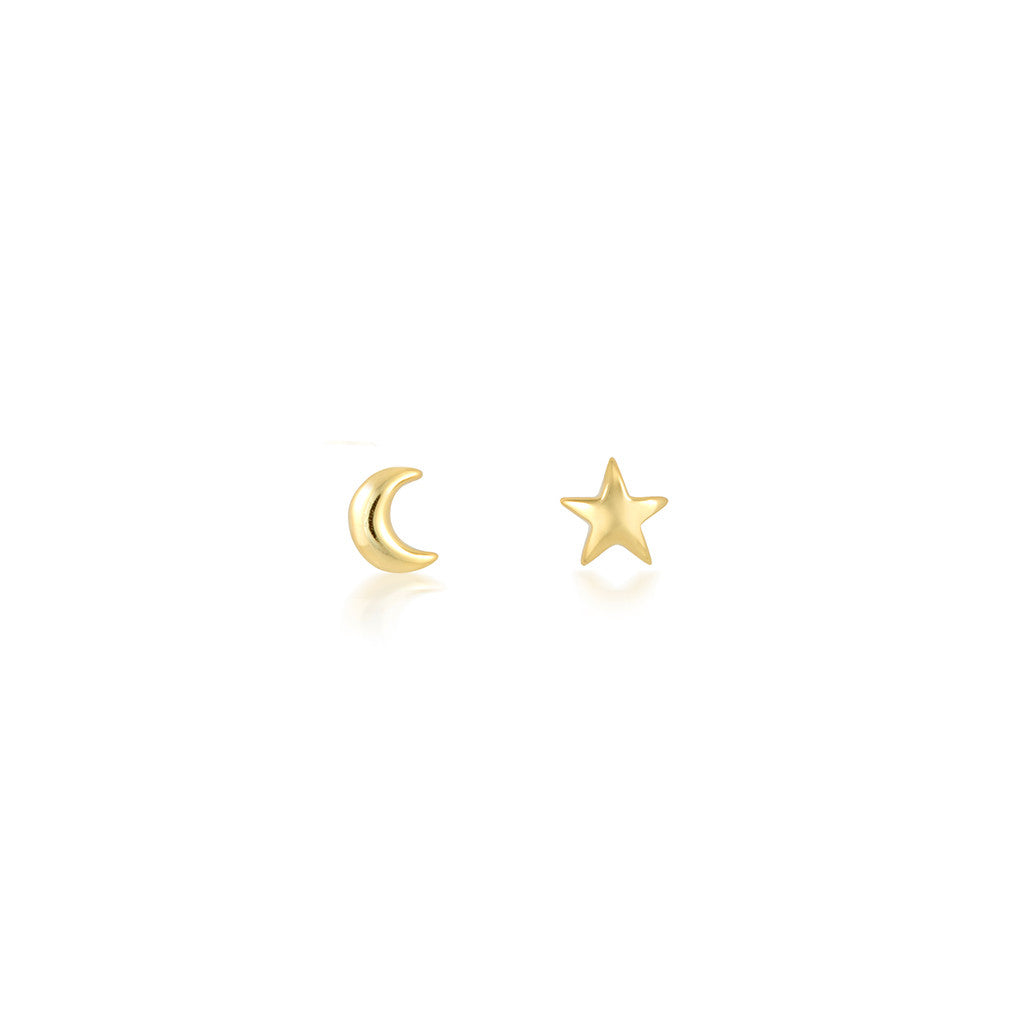 eb2f2a488 Previous Celestial Micro Studs Star Moon Small Ear Gold