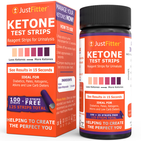 Just Fitter Ketone Strips