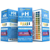 pH Test Strips. 125 strips per bottle (100 + 25 free). For Testing Alkaline and Acid Levels in the Body. Also Receive a free Follow up Phone Call from one of our qualified staff. Any where in the world. Strictly Limited Offer.