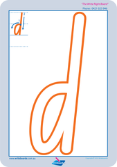 Special Needs Lower Case Alphabet Worksheets and Handwriting Kit for NSW and ACT.