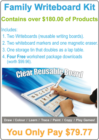 Family Writeboard Kit.