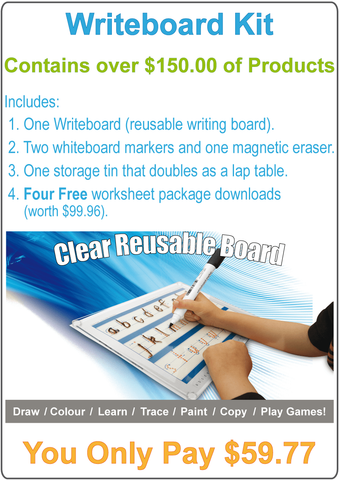 Writeboard Kit.