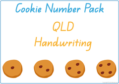 teach your child QLD numbers using cookies