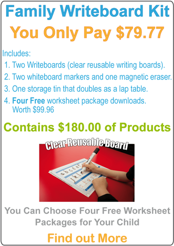 Family Writeboard Kit