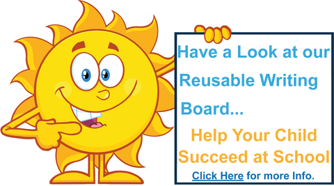 Special Needs Resources for QLD, Special Needs Products, Special Needs reusable Writing Board.