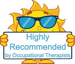 The Writeboards Teaching Aide is Highly Recommended by Occupational Therapists.