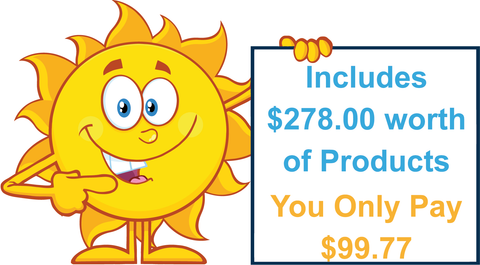 Homeschooling Kit includes $278.00 of Products you only pay $99.77