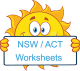 NSW Foundation Font Handwriting Worksheets.
