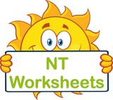 NT handwriting worksheets and flashcards for children in NT, VIC Modern Cursive Font