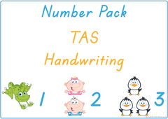 Teach your child numbers using TAS handwriting