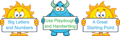 Writeboards Australian Handwriting Worksheets Ratings Banner. QLD Modern Cursive Font Handwriting.