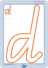 Special Needs Handwriting Kit for QLD Modern Cursive Font includes free lowercase alphabet and number worksheets