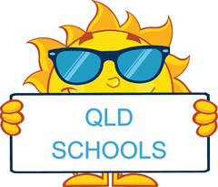 QLD Modern Cursive Font colourful and engaging worksheets for teachers and schools.